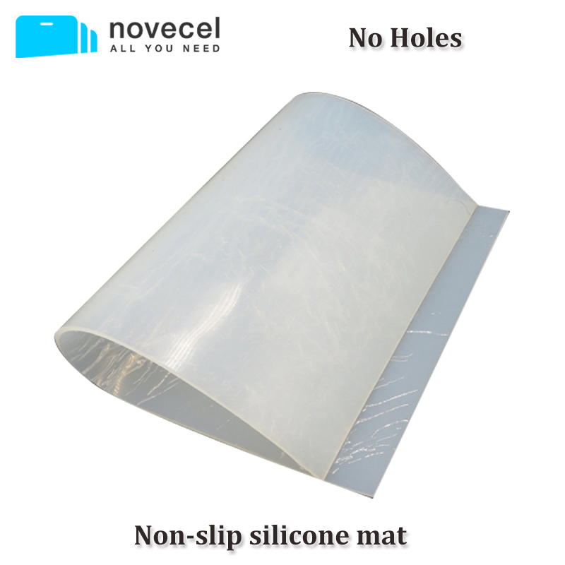 Novecel High Temperature Non Slip Silicone Rubber Pad Cooling thermal Sheet 230*180*3mm / 350*230*3mm