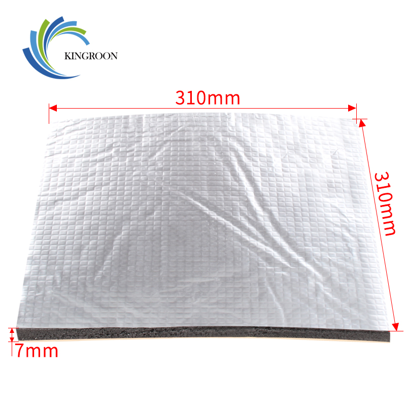 Foil Self-adhesive Pad Heating Bed Sticker Hot Plate Heat Insulation Cotton