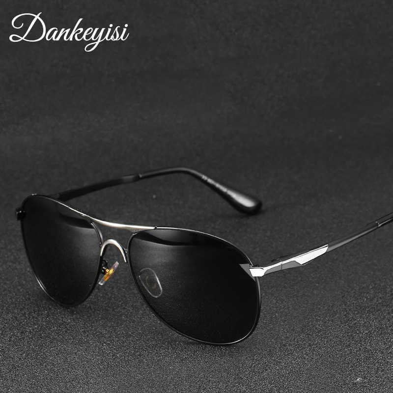 f511f211785 DANKEYISI Sunglasses Men Polarized Pilot Sunglasses Male Brand Design UV400  Protection Shades Oculos De Sol Men