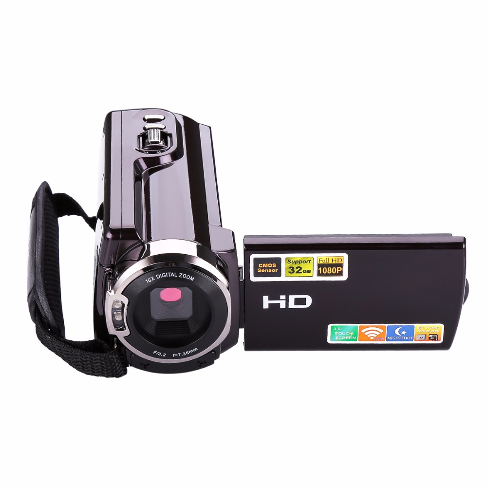 HDV-5053 24MP Full HD 1080P 3.0 LCD Screen Digital Video Camcorder With WiFi DV DSLR Digital Camera IR LCD Touch Screen winait electronic image stabilization hdv z8 digital video camera with recording function touch screen