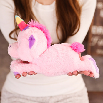 Magic Stuffed Animals Unicorn On Arm