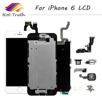 AAA+++ For iPhone 6 LCD Full Assembly Complete Display With 3D Force Touch For iPhone 6G Screen Replacement A1549 A1586 A1589 image