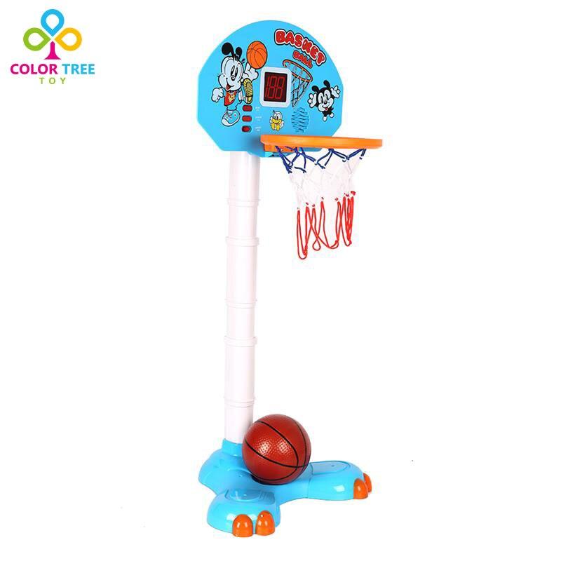 Cartoon Adjustable Basketball Stand Hoop Toy Score