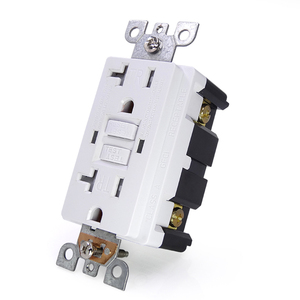 Image 2 - GFCi USA US standard Power Socket,Universal Plug Socket Port Power Adapter Outlets,Tamper Resistant Duplex Receptacle,Auto Test