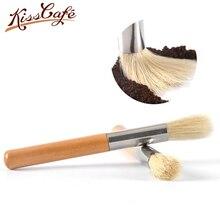 Кофемашина, шлифовальная щетка для очистки, щетина, деревянная ручка, щетка для порошка кофе, молочного порошка, щетка для уборки, щетка для кофе