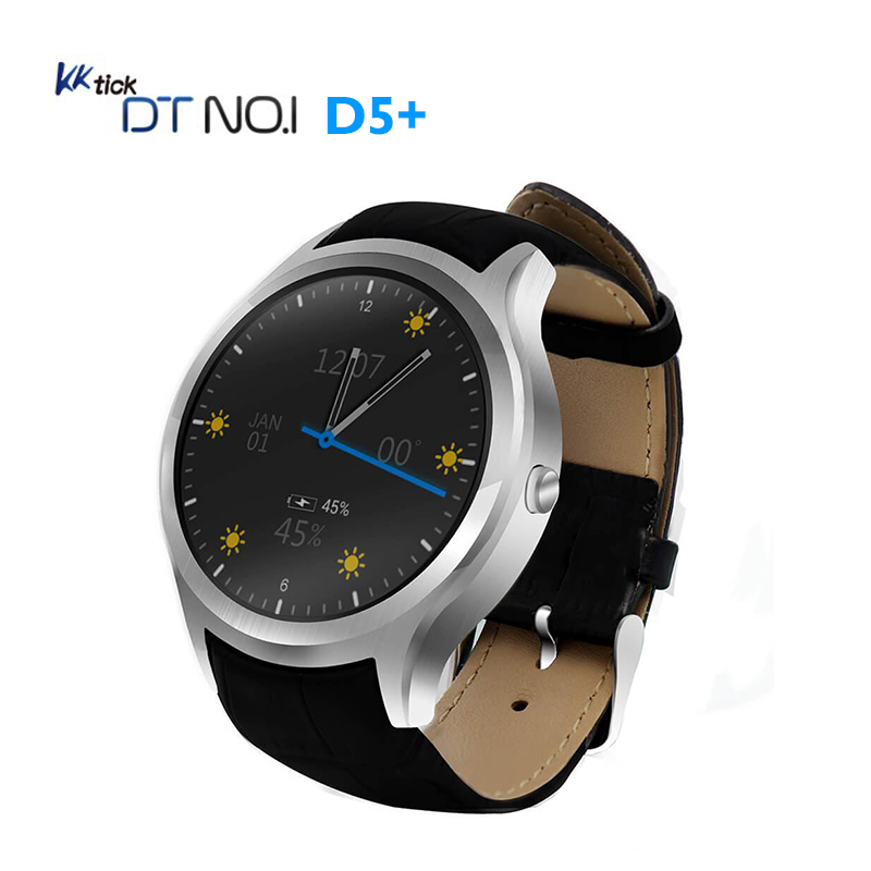 NO 1 D5 Smart Watch Android 5 1 3G Smartwatch Phone MTK6580 Quad Core GPS Bluetooth