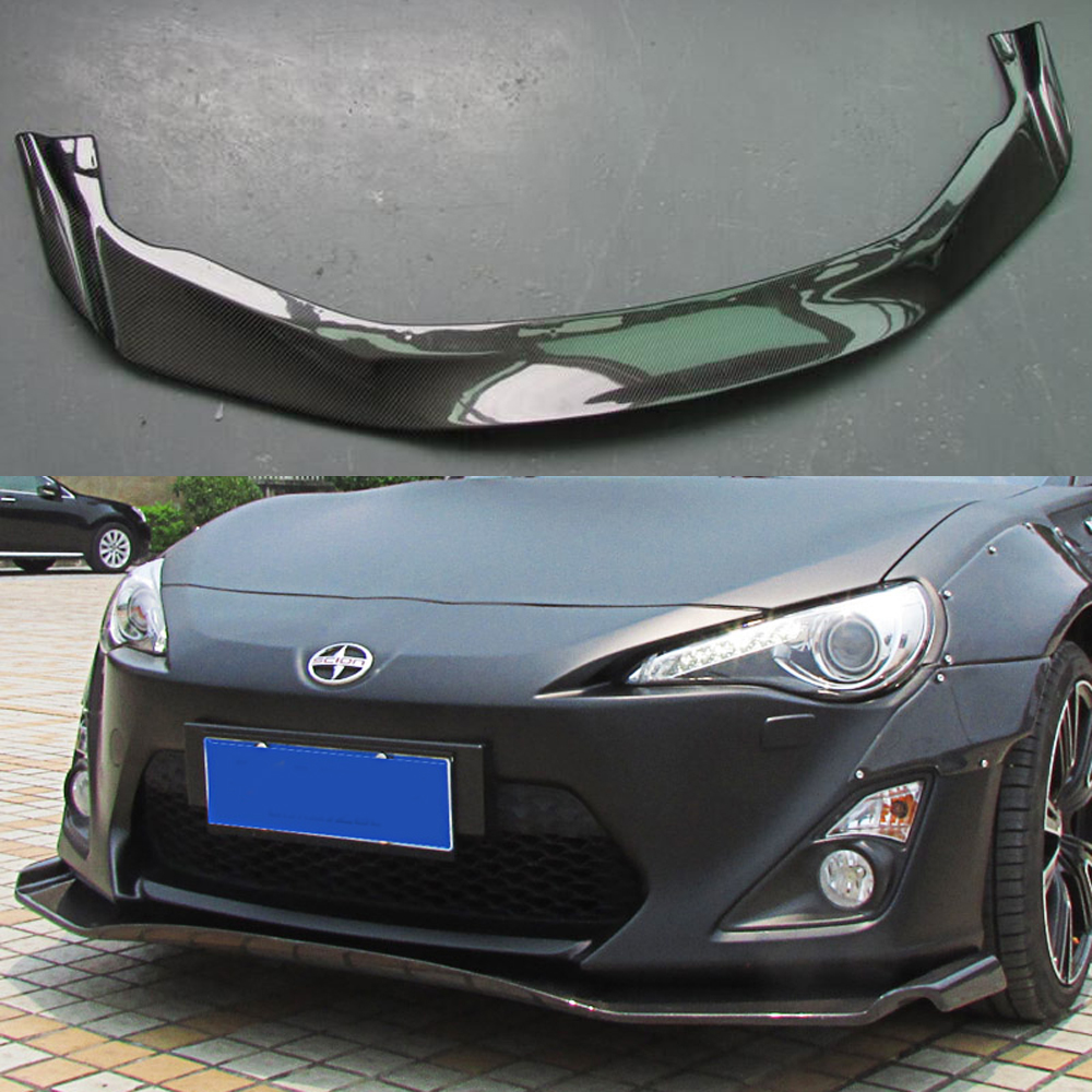 Gt86 gred dy style carbon fiber car body kit front bumper lip for toyota gt86 2012