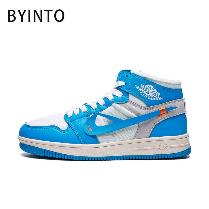 Skateboarding shoes for men women breathable blue male sneakers couples  fabric leisure footwear chaussure homme sport 3395706a507