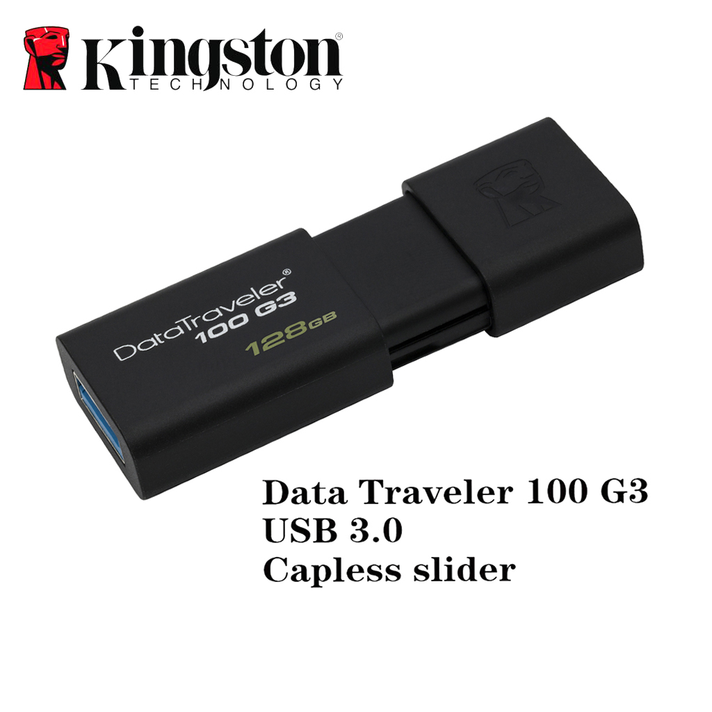 Kingston 128GB usb 3.0  flash drive U disk memoria usb storage device caneta memory stick kingston g3 8gb usb flash drive u disk white