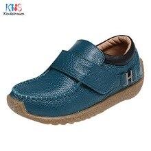 Enfants Chaussures Garçons En Cuir Véritable Chaussures 2017 Nouveaux Enfants Semelle Souple Chaussures Casual Chaussures De Mode Confortable Mocassins Scolaires, EJ198