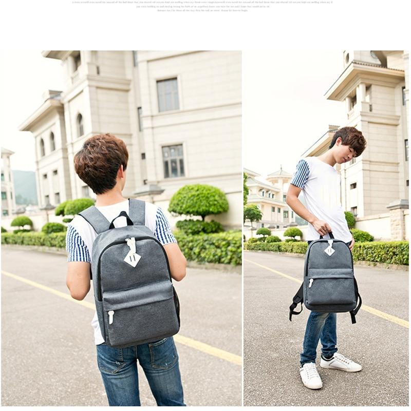 laptop sacolas de viagem mochila Estilo : Estilos Coreano e Japonês
