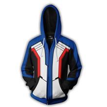 Game OW Soldier 76 Cosplay Hoodies Men Women Game D.VA Coat Sweatshirts Costume Casual Zipper Spring Tops Jackets hoodies