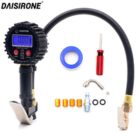 1/4 NPT Quick Connect Digital Tire Inflator with Pressure Gauge 0 200PSI Air Chuck and Compressor Accessories Tire Repair Tools