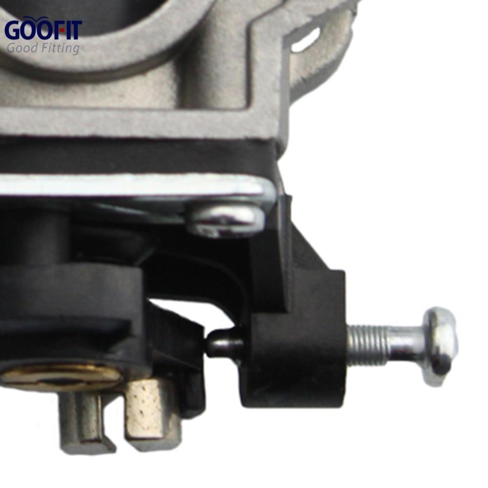 GOOFIT 15mm karburaator Karburaatori krundipirn Carb 49cc 2-taktiline - Mootorrataste tarvikud ja osad - Foto 5