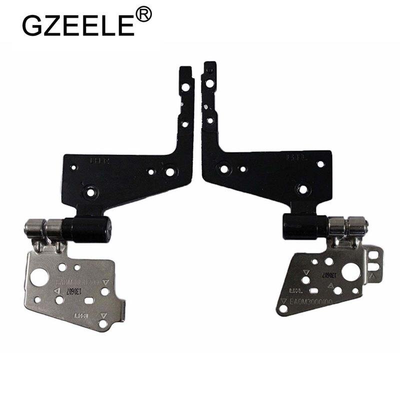 GZEELE New Hinges Left Right Screen LCD Hinge Rails For Dell Latitude E5430 Left & Right Hinges Set EA0M3000100 EA0M3000200