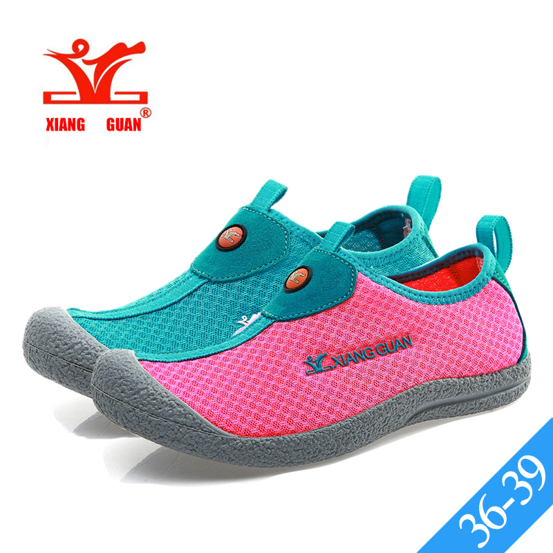 XIANG GUAN Peach Pink Womens Water Shoes Loafers Slip On Upstream Shoes Lovers Walk Aqua Shoes Wading Sneakers Comfortable