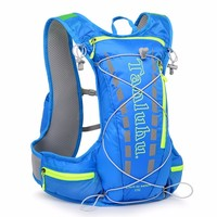 12L Nylon Waterproof Sports Backpack Running Bicycle Bag Hydration Women Men Outdoor Bike Cycling Camping Vest Backpacks