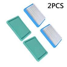 2 sztuk filtr powietrza wstępnie zestaw filtrów dla Briggs & Stratton 491588 491588 S 5043 5043B