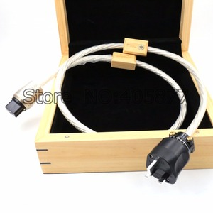 Image 1 - 1.5m DIN 2 Supreme Reference przewód zasilający UK kabel z 20A IEC wtyczka zasilania kabel HIFI moc dźwięku