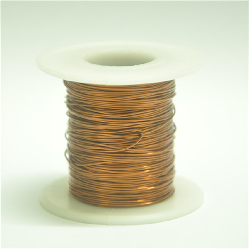 Free shipping 1.4mm * 33m / pcs QA-1-155 2UEW Polyurethane enameled Wire Copper Wire magnet wire free shipping 0 35mm 500m qa 1 155 polyurethane enameled wire copper wire enameled repair cable