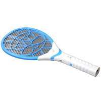 3 Layers Net Rechargeable Racket Electric Swatter Pest Control Insect Bug Bat Wasp Zapper Fly Mosquito