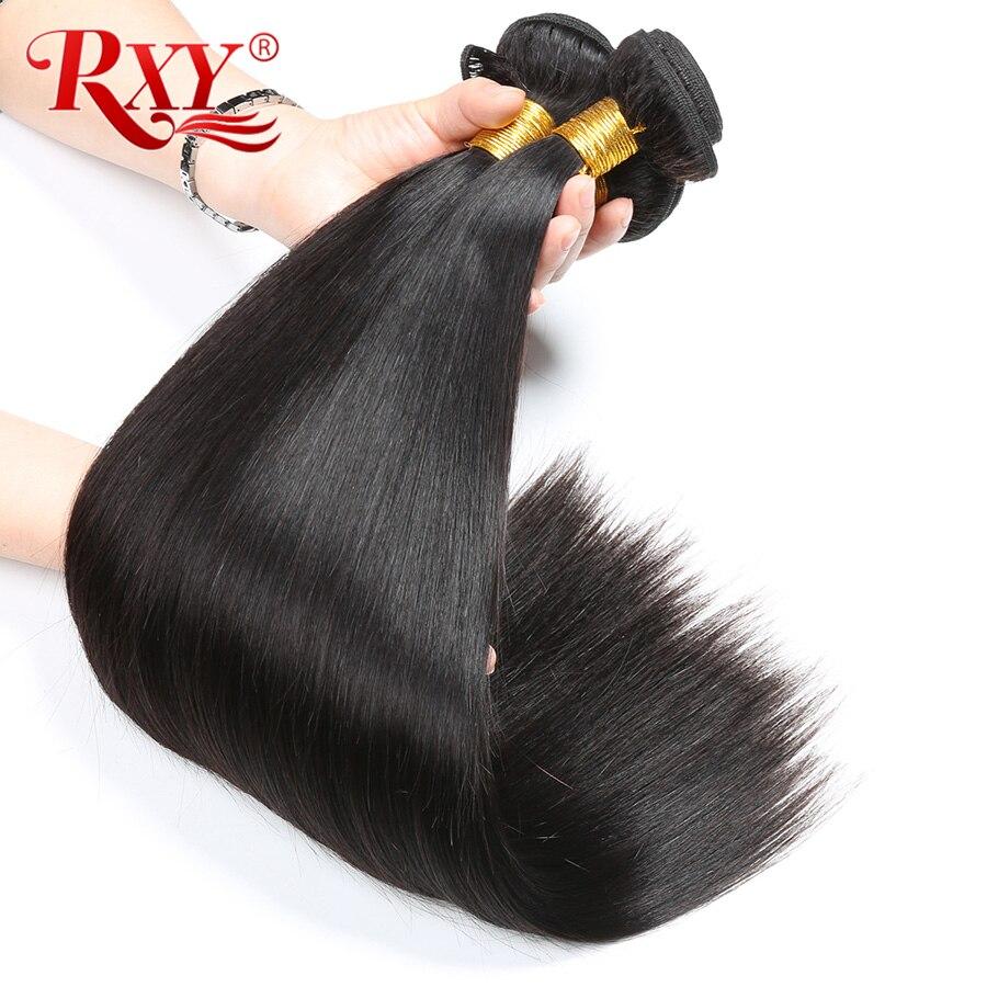1 3 Bundles Deals Brazilian Hair Weave Bundles Sale 8-28inch RXY Straight Human  Hair Bundles Remy Hair Extensions Can Be Dyed cf1ce17dda5d