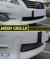 Mesh grille case for Toyota RAV4 XA30 2010-2013 car styling molding decoration protection chrome pad cover stainless