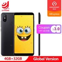 Spain 1~5 Work Days Global Version Xiaomi Mi A2 4GB 32GB Android One 5.99'' Full Screen S660 AI Dual Camera Mi A 2 Cellphone