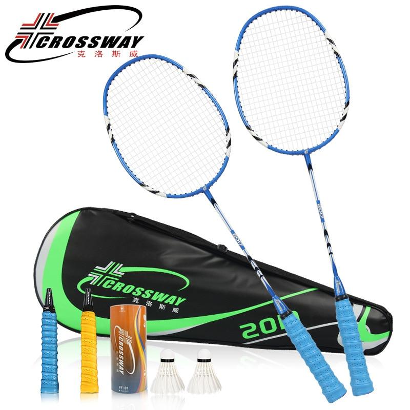 Aliexpress.com : Buy CROSSWAY New 1 pair badminton racket ...