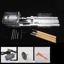 Multifunction DIY Wood Lathe Mini Lathe Cutting Machine Table Saw Polisher For Polishing Cutting Woodworking