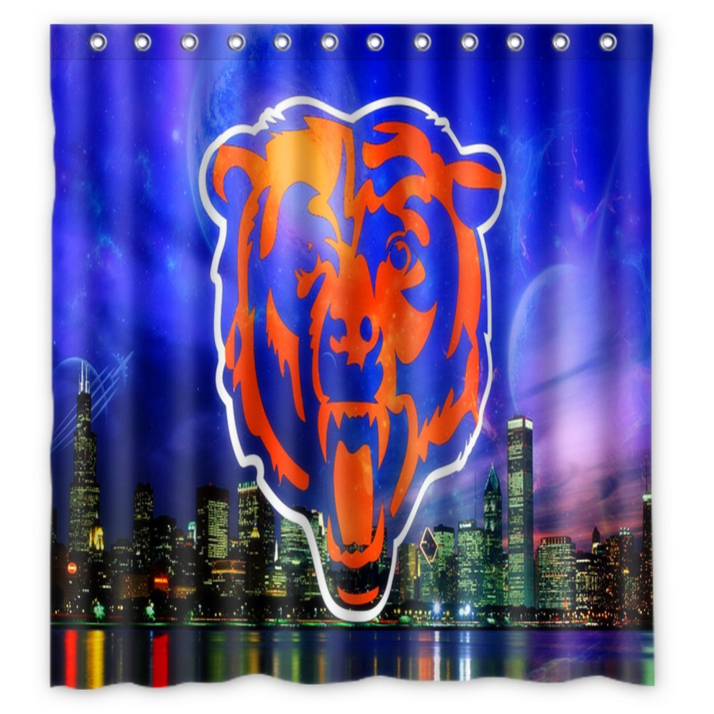 Anime Shower Curtain One Piece Dragon Ball Z Bleach Fairy Tail Naruto  Together Chicago And Bear