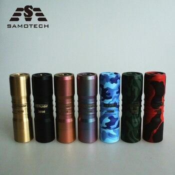 HOT Elthunder V3 Mechanical  Mod fit 510Thread Brass Material 18650/20700 batter ffor RDA RDTA vape pen gift boxl Mod kit