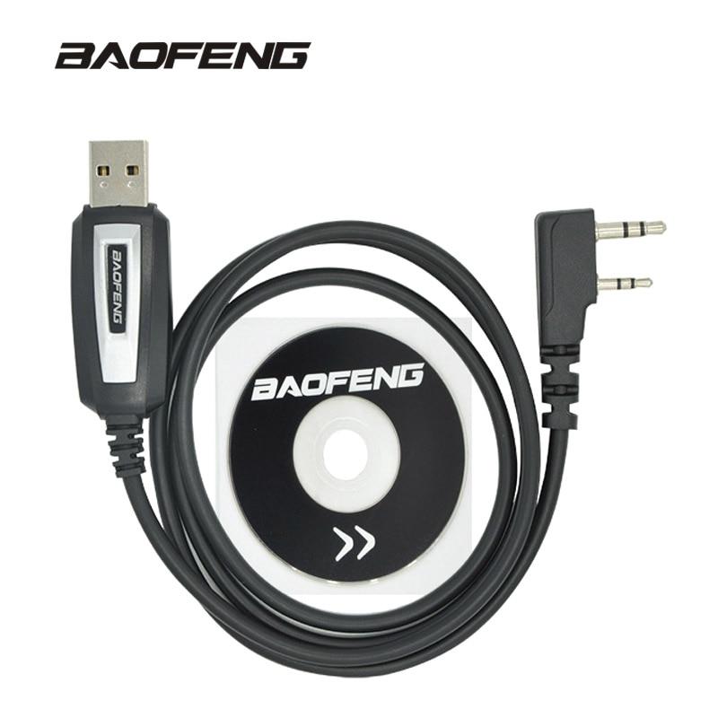 Baofeng Programming-Cable Cb Radio Uv-5r-Accessories Walkie-Talkie BF-888S UV-82 USB