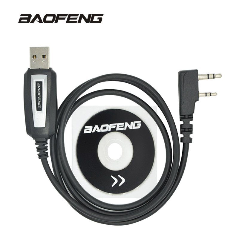 Baofeng USB Programmierung Kabel UV-5R CB Radio Walkie Talkie Codierung Kabel K Port Programm Kabel für BF-888S UV-82 UV 5R zubehör