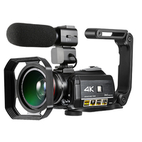 Winait UHD 4K Wifi Digital video camera with 3.0'' touch display and 30x digital zoom night vision digital DV Camcorder