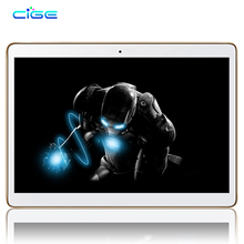Cige Newest Free 10.1 inch Tablet PC 4G Octa Core 4GB RAM 64GB ROM Android 5.1 IPS GPS 5.0MP LTE WCDMA Tablets 10.1″ +Gifts