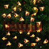Bee String Lights 20 50 Led Outdoor Solar Power LEDs Strings Waterproof Garden Patio Fence Gazebo Summer Night Light Decorations review