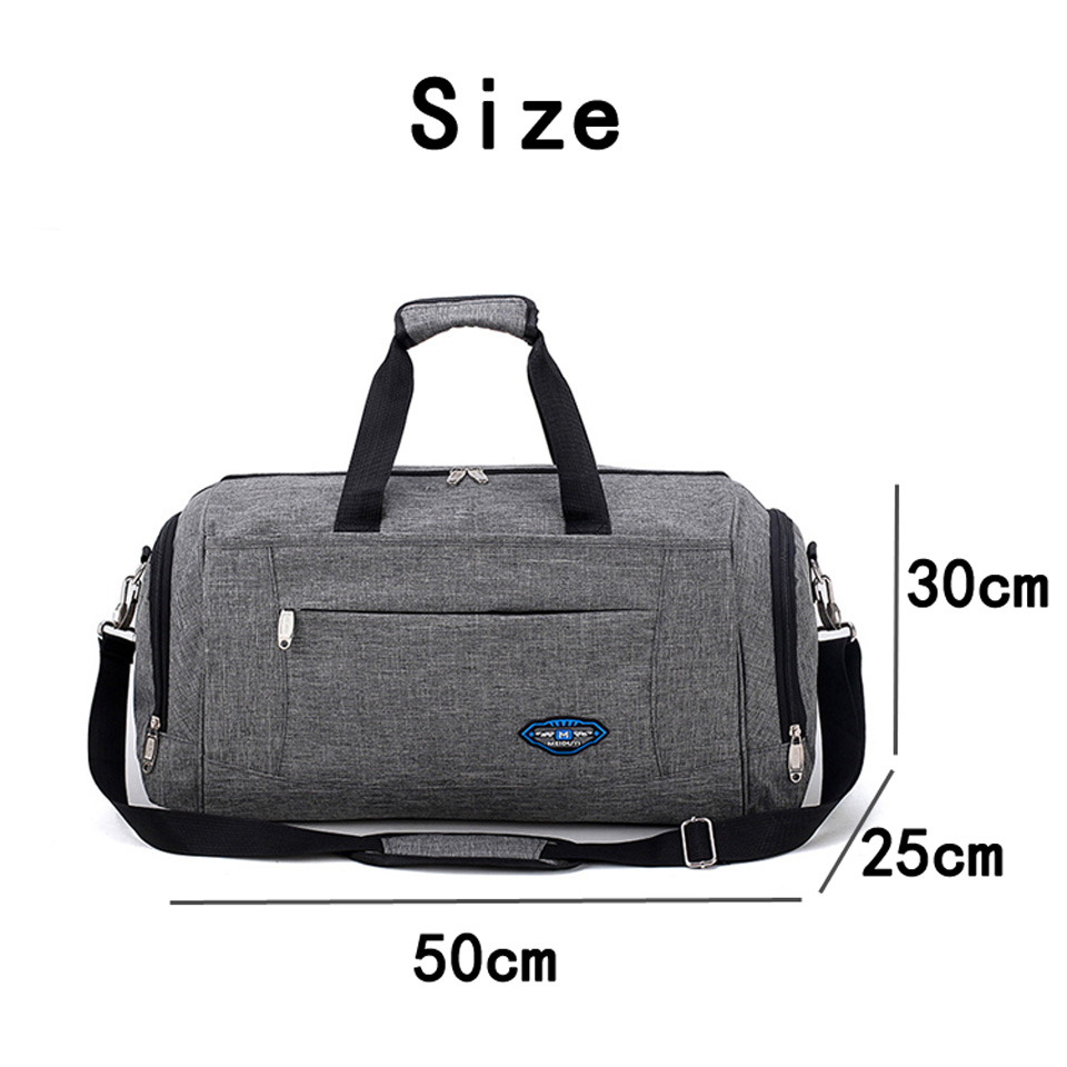 Sport Bag for Fitness Unisex Training Yoga Gym Bag Portable Nylon Waterproof Men Women Large Capacity Outdoor Sports Travel Bags in Gym Bags from Sports Entertainment