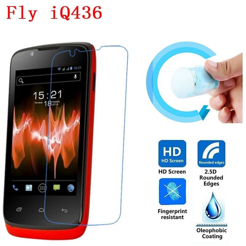 Fly IQ436 Screen Protective Film, 2.5D Ultra-Thin HD Clear Soft Pet Screen Protector Film for Fly IQ436 Era Nano 3