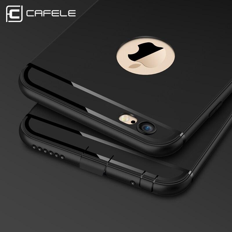 CAFELE Caja Del Teléfono para el iphone 6 6 s Moda de Lujo Ultra Thin TPU Cubier