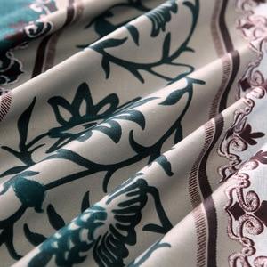 Image 5 - 2018 Minimalist Bed Duvet Cover Set Luxury European Comforter Bedding Sets Solid Pattern Reversible Bedding Set King Size
