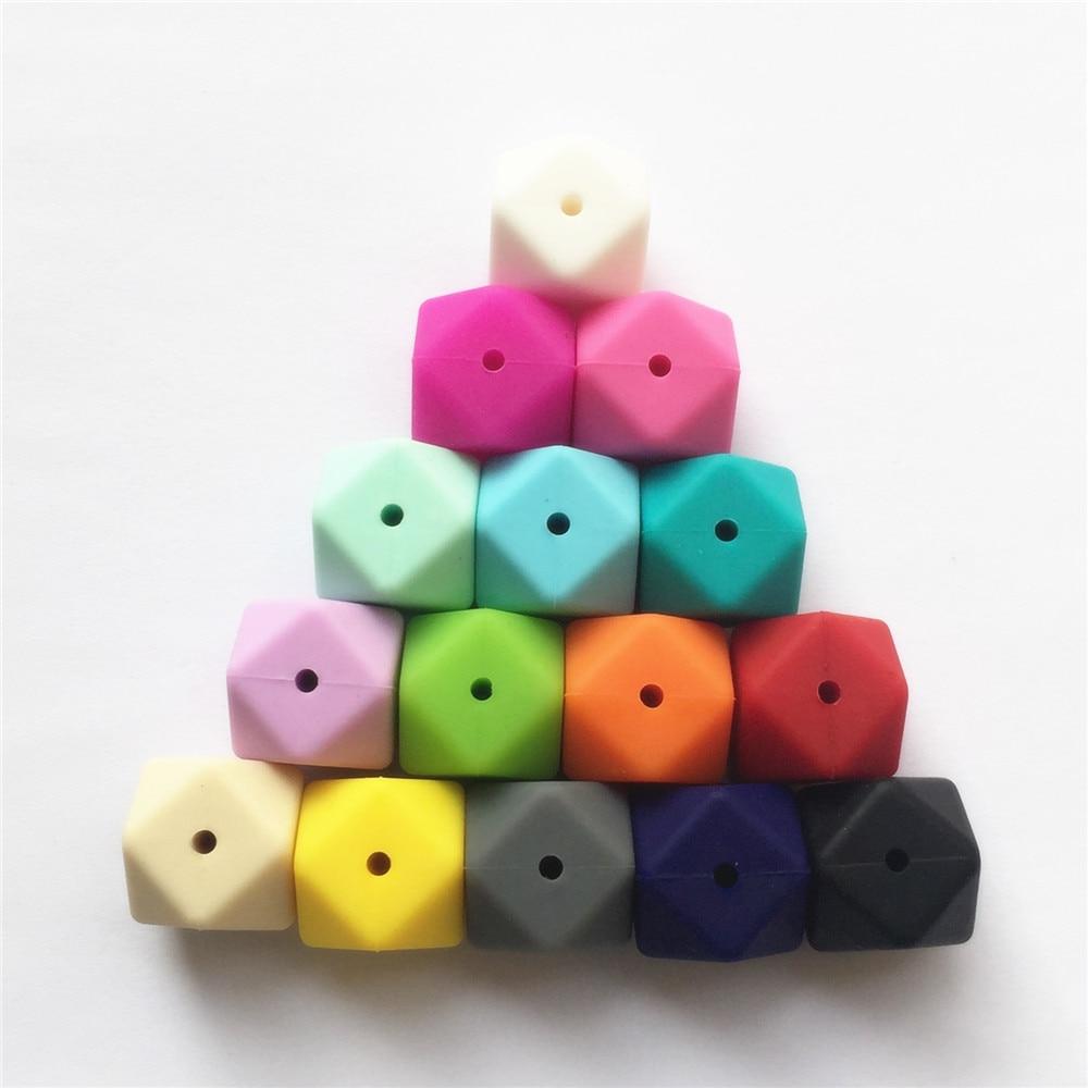 500 pcs lote 17 milimetros hexagon bebe 01