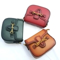Hot Vintage Striped Straps Saddle Bags Classic Handbag High Quality PU Leather Women Messenger Bag Shoulder Crossbody 2 Straps