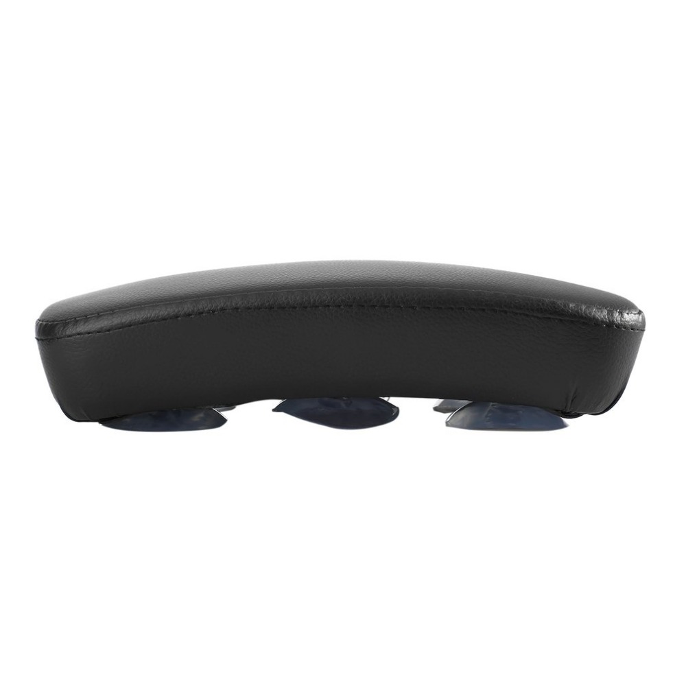 Rear Passenger Rectangle Shaped Seat Pad Cushion with 6 Suction Cup For Harley Softail Dyna Sportster Easy to Install
