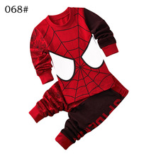 Cartoon spiderman clothing child boy set children's suits spider man clothing roupas infantis menino Spider-Man boys clothes set