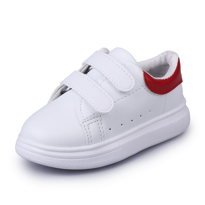 2017 New Children's Leisure Sports Shoes, White Shoes, Boys and Girls Children's Casual Shoes