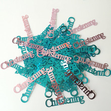 20g/Pack Baby Girl Christening Confetti Table Scatters Baby Shower Birthday Decoration Baptism Communion Ornament