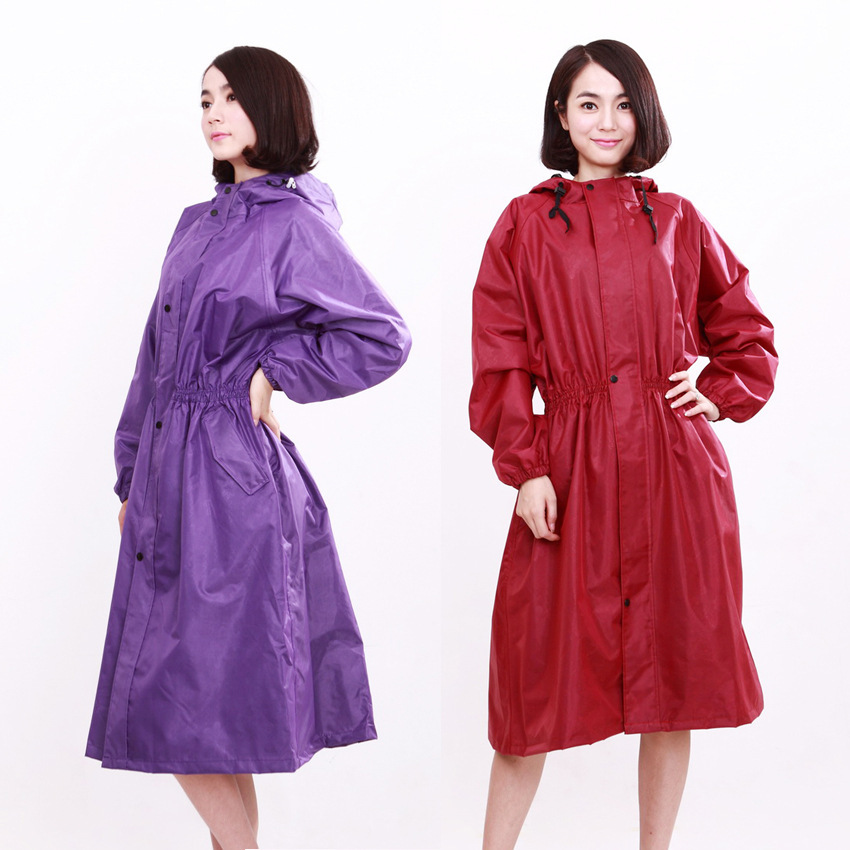 Rain Jacket Women 2016 new Raincoat Rainwear Impermeable Rain coat ...