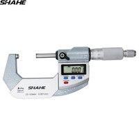 SHAHE IP65 0.001 mm digital outside micrometer digital vernier caliper micrometer 25 50 mm micrometro digital