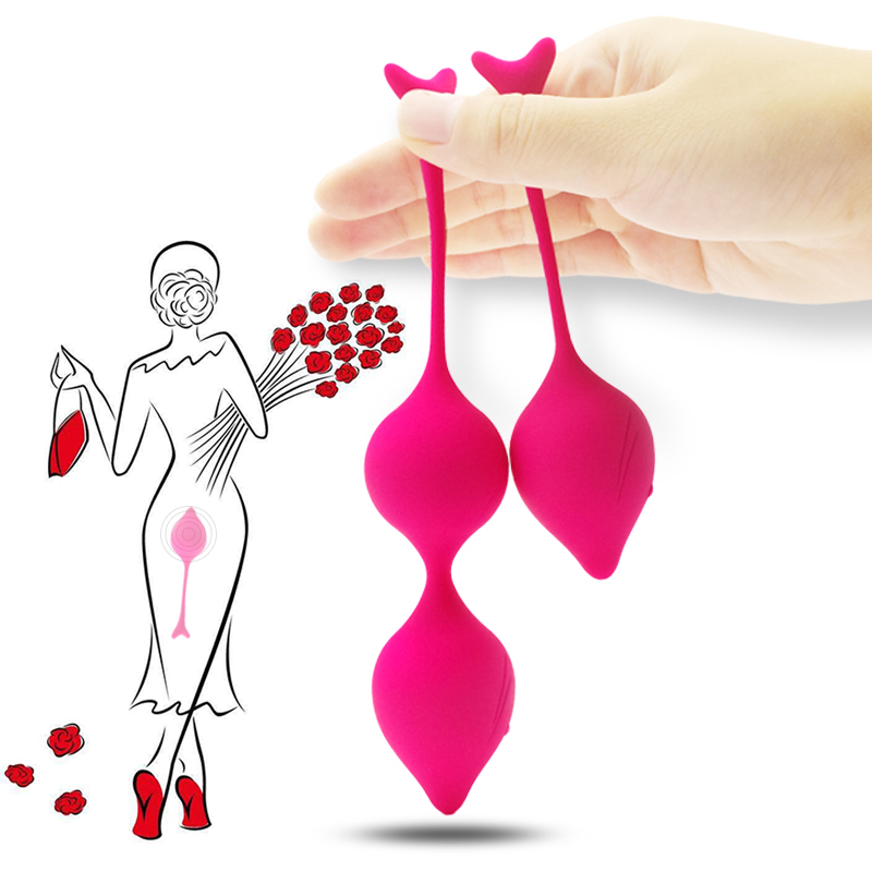 Magic Kegel Balls Silicone Vaginal Tight Exercise Vagina Orgasms Clit Massage Ben Wa Balls Sex Product Adult Sex Toy For Women